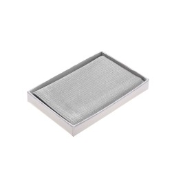 Einstecktuch grau