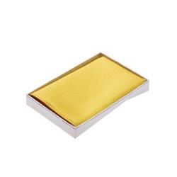 Einstecktuch goldgelb
