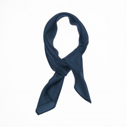 Nickituch Halstuch Twill marineblau
