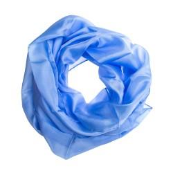 Seidenschal Halstuch Schal Hellblau