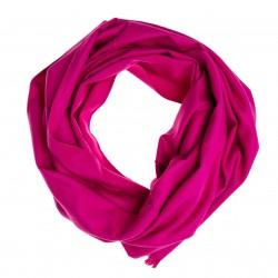 Seidenflanell Schal Halstuch pink 180x30 cm reine Seide