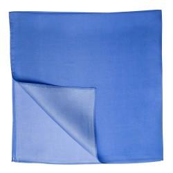 Seidentuch Halstuch Twill blau