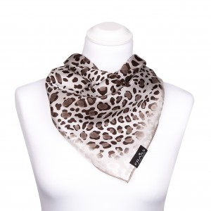 FRAAS Nickituch Halstuch Leopard taupe