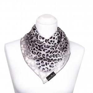 FRAAS Nickituch Halstuch Leopard grau
