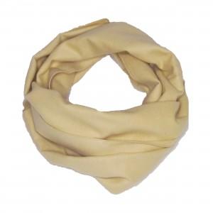 Schal Seidenflanell beige