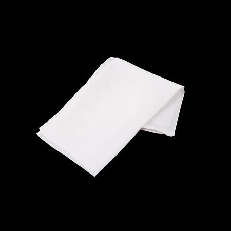 Einstecktuch Weiß 28x28cm reine Seide einfarbig unifarben