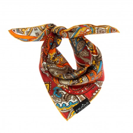 Nickituch Paisley orange