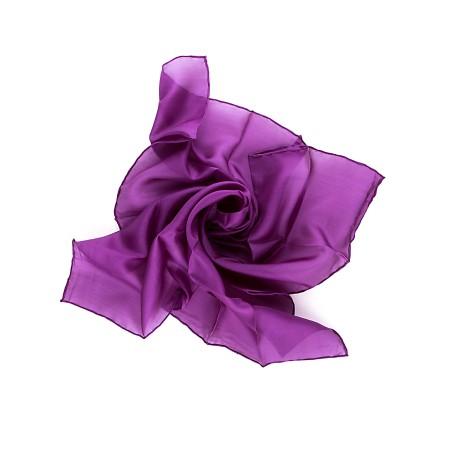 Nickituch 55 x 55 cm Violett