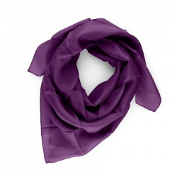 Seidentuch 90x90cm violett lila reine Seide einfarbig unifarben
