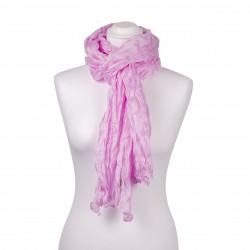 Knitterschal Perle Rosa 100% reine Seide 180x90cm Damen einfarbig