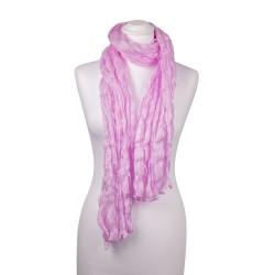 Knitterschal Perle Rosa 100% reine Seide 180x90cm uni einfarbig
