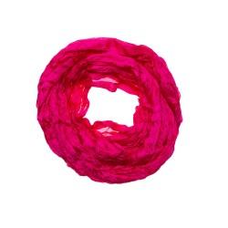 Crinkle-Schal Pink aus 100% echter Seide