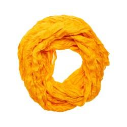 Knitterschal Halstuch Schal XXL pagode gelb