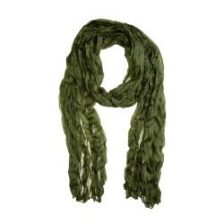 Knitterschal Halstuch Schal XXL kaktus grün