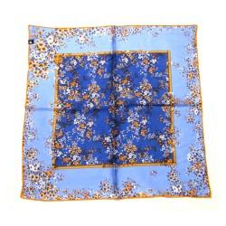FRAAS Nickituch Halstuch Floralprint blau