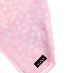 FRAAS Nickituch Halstuch rosa gepunktet