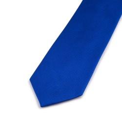Seidenkrawatte blau dunkelblau königsblau reine Seide uni einfarbig