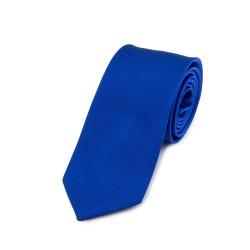 Seidenkrawatte blau dunkelblau königsblau reine Seide unifarben einfarbig