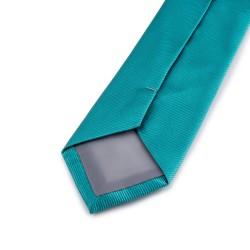 Seidenkrawatte türkisblau blau türkis reine Seide uni 150x7,5cm