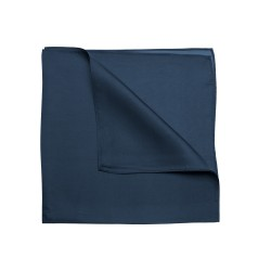 Marineblaues Nickituch Halstuch aus 100% Twillseide