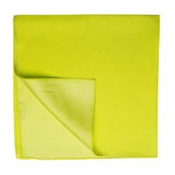 Limonenfarbenes Nickituch Halstuch Twillseide