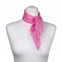 Nickituch Seidentuch rosa altrosa 100% reine Seide 55x55cm unifarben