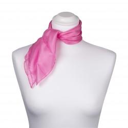 Nickituch Seidentuch rosa altrosa 100% reine Seide 55x55cm einfarbig