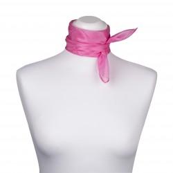 Nickituch Seidentuch rosa altrosa 100% reine Seide 55x55cm uni einfarbig
