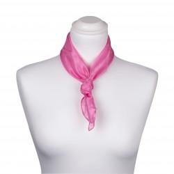Nickituch Seidentuch rosa altrosa 100% reine Seide 55x55cm Damen unifarben