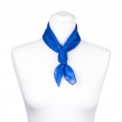 Nickituch Seidentuch royalblau blau dunkelblau 100% reine Seide 55x55cm uni einfarbig
