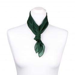 Nickituch Waldgrün Dunkelgrün 100% reine Seide 55x55cm Damen