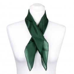 Nickituch Waldgrün Dunkelgrün 100% reine Seide 55x55cm uni
