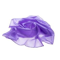 Nickituch Halstuch Flieder lila reine Seide