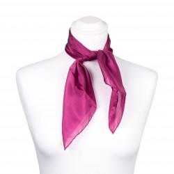 Nickituch purpur lila violett 100% reine Seide 55x55cm unifarben