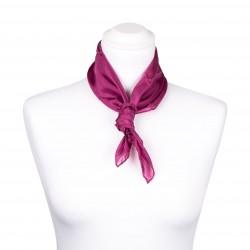 Nickituch purpur lila violett 100% reine Seide 55x55cm uni einfarbig