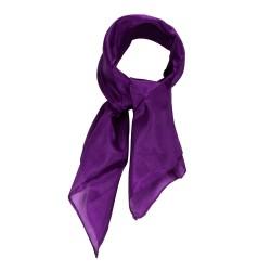 Nickituch Seidentuch violett lila 100% reine Seide 55x55cm Damen unifarben