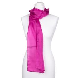 Seidenschal pink aus 100 % reiner Seide 180x45cm Damen