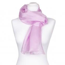 Seidenschal perle rosa pink 100% reine Seide 150x35cm
