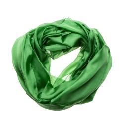 Seidenschal Minzgrün Grün 100% reine Seide 180x90cm Damen