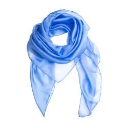 Seidentuch Halstuch Schal Hellblau