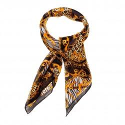 TINITEX Nickituch Halstuch Safari schwarz gold (