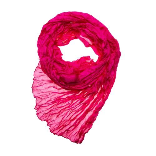 Knitterschal Halstuch Schal pink Damen