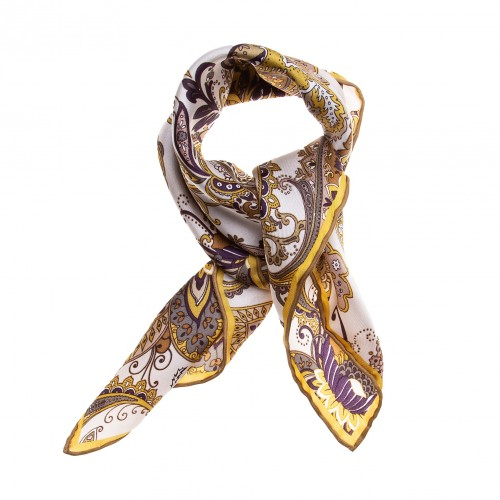 FRAAS Nickituch Halstuch Paisley gold
