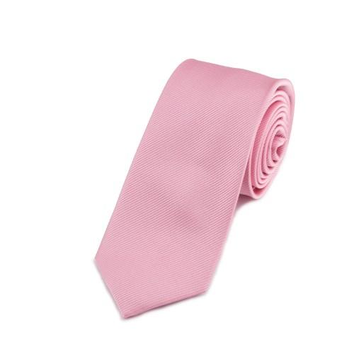 Seidenkrawatte rosa altrosa hellrosa reine Seide uni einfarbig