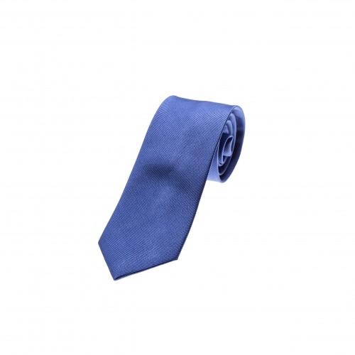 blaue Seidenkrawatte, reine Seide, Herrenaccessoire