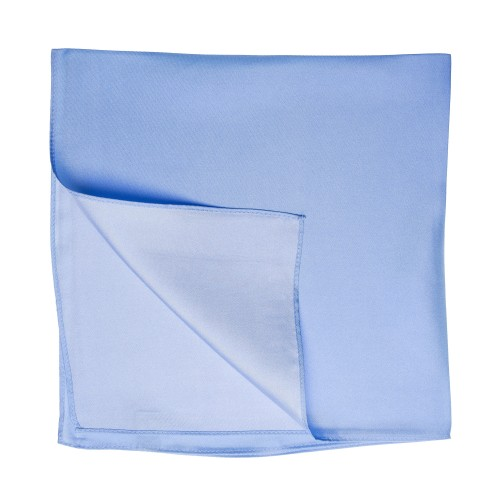 hellblaues Nickituch Halstuch aus Twillseide