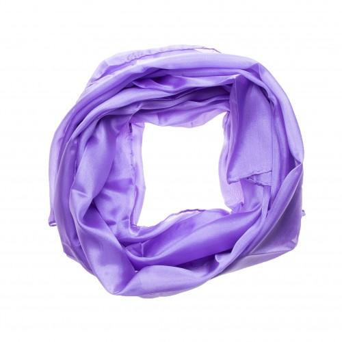Seidenschal Halstuch Schal Flieder lila violett