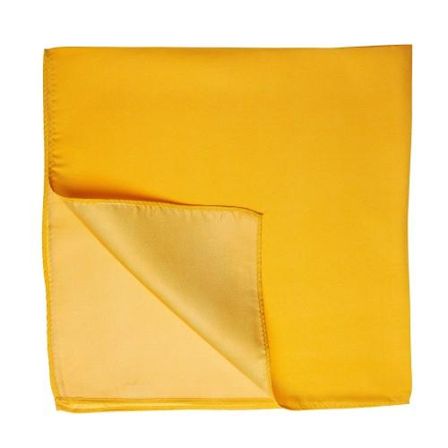 Seidentuch Halstuch Twill indisch gelb