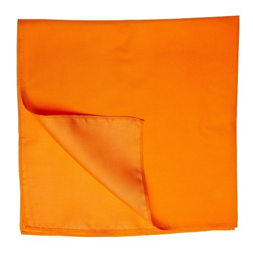 Seidentuch Halstuch Twill orange
