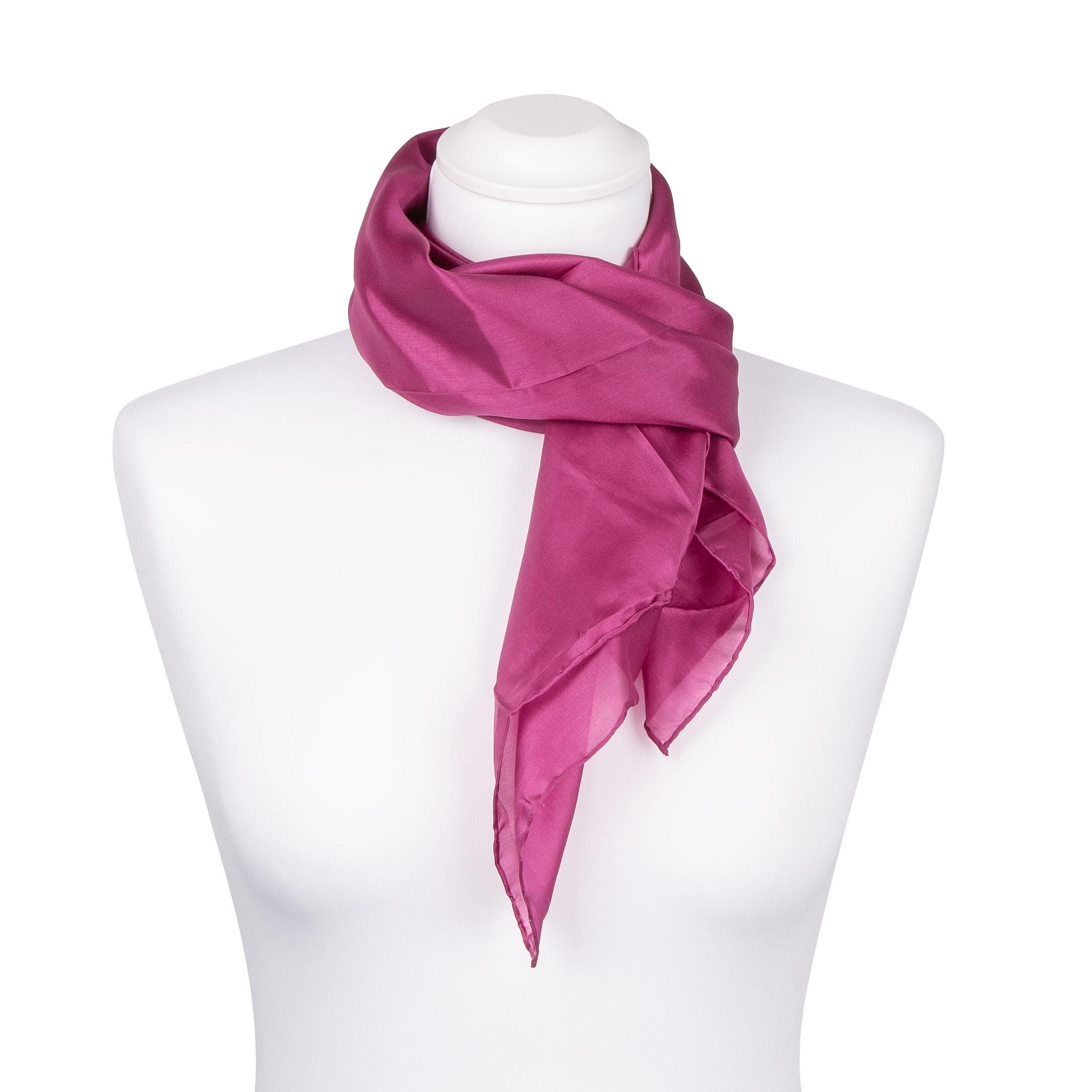 Seidentuch Halstuch Schal purpur